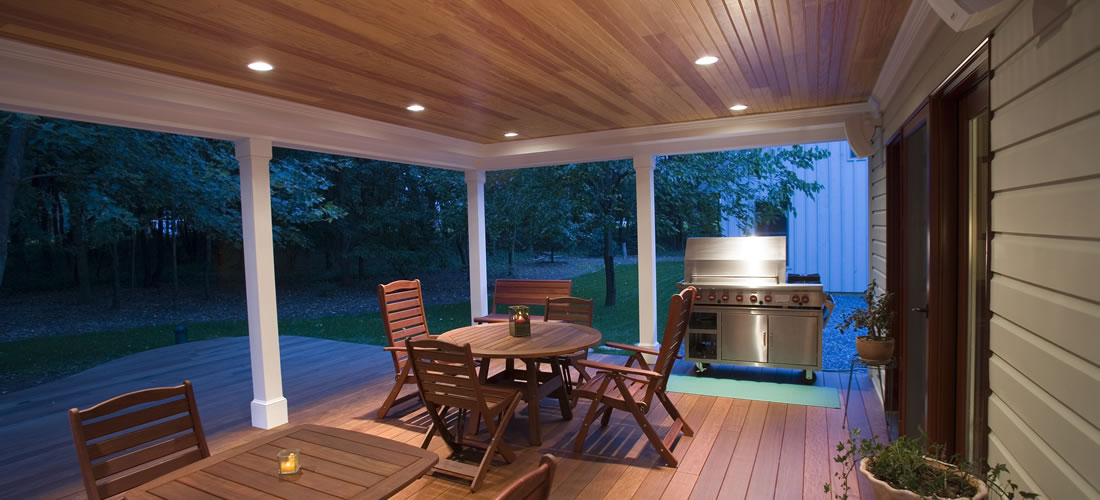 Covered outdoor living space - Covered outdoor living spaces ...